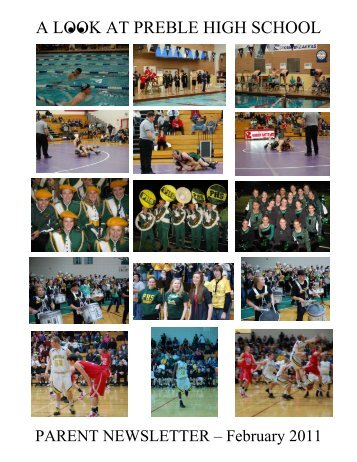 February nl 2011.pdf - Green Bay Preble