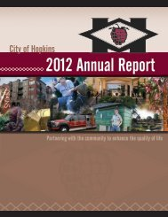 2012 Annual Report - City of Hopkins