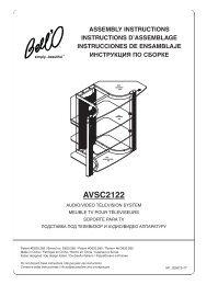 AVSC2122 - Bell'O