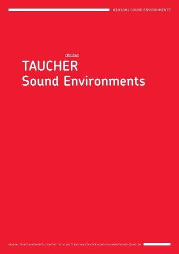 TAUCHER Sound Environments