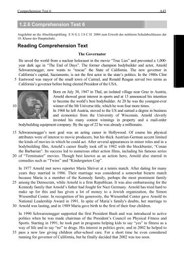3 test package reading comprehension mathematical acer 126 comprehension test 6 reading comprehension text fandeluxe Image collections