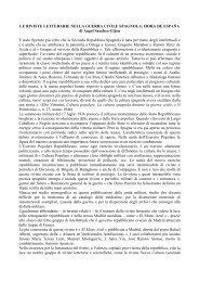 hora de espaa - Catalogo Informatico delle Riviste Culturali Europee