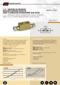 double pilot operated check valves valvole di blocco pilotate a ... - Page 4