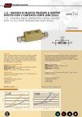 double pilot operated check valves valvole di blocco pilotate a ... - Page 6