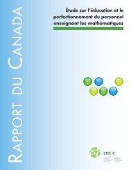 Télécharger la version PDF - Conseil des ministres de l'Éducation ...