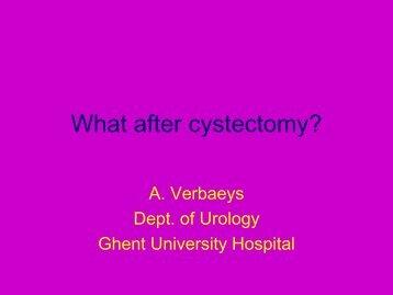 Urinary diversion - Stomavlas