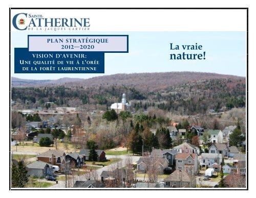 plan stratégique 2012/2020 - Ville de Sainte-Catherine-de-la ...