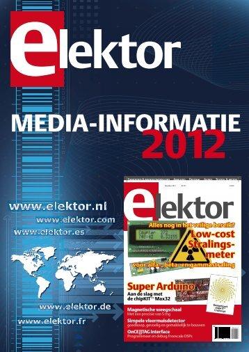 MEDIA-INFORMATIE - ELEKTOR.nl