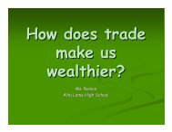 How does trade make us wealthier