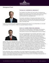 Management Team - Washington Fine Properties