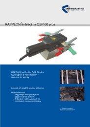 RAPPLON svářecí lis QSP 60 plus
