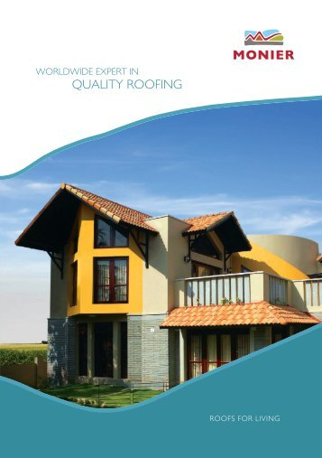 quality roofing - Monier