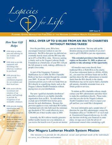 122089 issue 8 NL Legacies Nletter.jm:Layout 1 - Niagara Lutheran ...