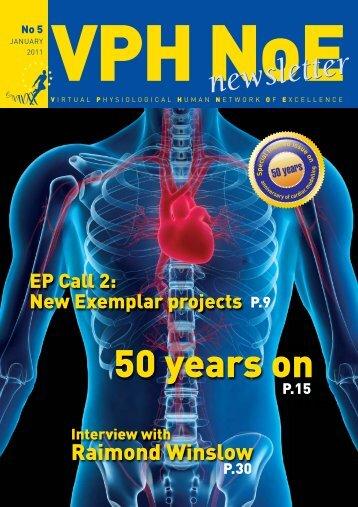 VPH NoEnews N∞5_VPH news 5 - Institute for Computational ...