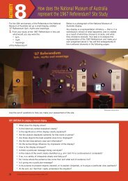 Activity 8 (PDF 428.2 KB) - National Museum of Australia