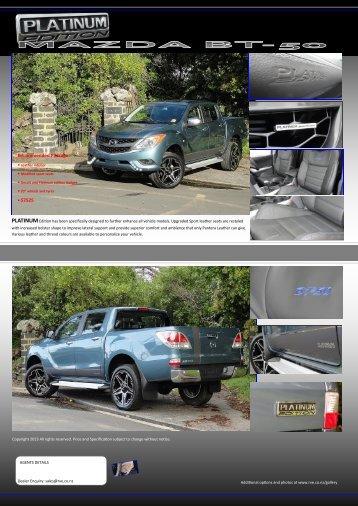2012 Mazda BT50 - Retro Vehicle Enhancement