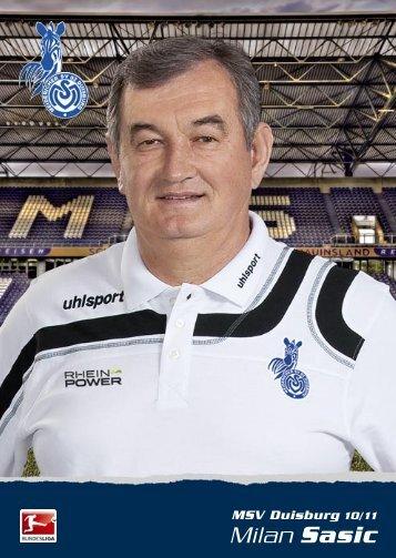 Milan Sasic - MSV Duisburg
