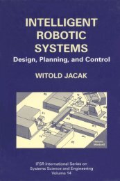 intelligent robotic systems design, planning, and control