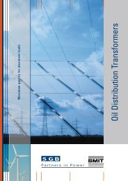 Oil Distribution Transformers - SGB-SMIT - manufacturer of ...