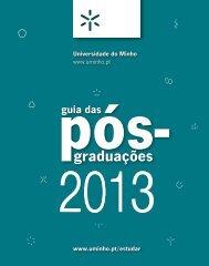 Mestrados e Doutoramentos - Universidade do Minho