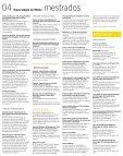 Mestrados e Doutoramentos - Universidade do Minho - Page 4