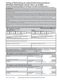 Antrag auf Behandlung als unbeschränkt einkommensteuer - Steuern