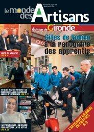 N°51 - Mars - Avril 2006 - Chambre de métiers et de l'artisanat
