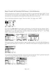 """Side 1 af 4 Bilag til """"Statistik i løb"""": Statistik på TI-89 Titanium ... - LMFK"""