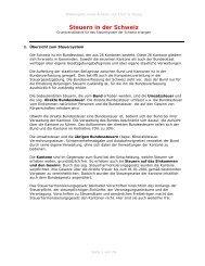 Steuern in der Schweiz - frank-reissmann.de