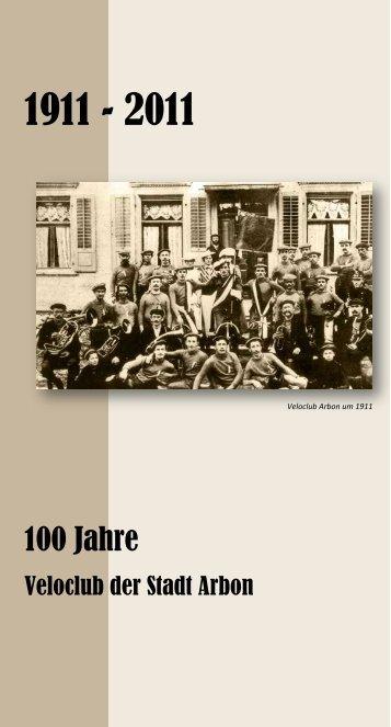 100 Jahre - Radfahrer Verein Arbon