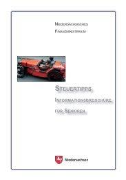 steuertipps steuertipps informationsbroschüre