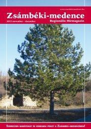 2012 NOVEMBER-DECEMBER PDF-ben letölthető - Zsámbéki ...