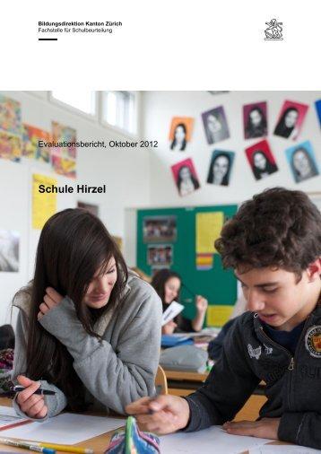 Externe Evaluation 2012 - Gemeinde Hirzel