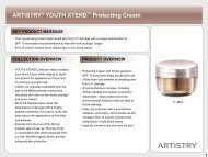 ARTISTRY® YOUTH XTEND™ Protecting Cream - Amway