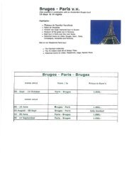 France-Belgium-Boat& Bike from Paris to Bruges ... - OK Cycle Tours