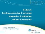 Module 6 Costing, assessing & selecting adaptation & mitigation ...