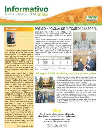 Boletín Informativo INIFAP # 4