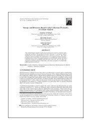 Snoopy and Directory Based Cache Coherence Protocols: A Critical ...