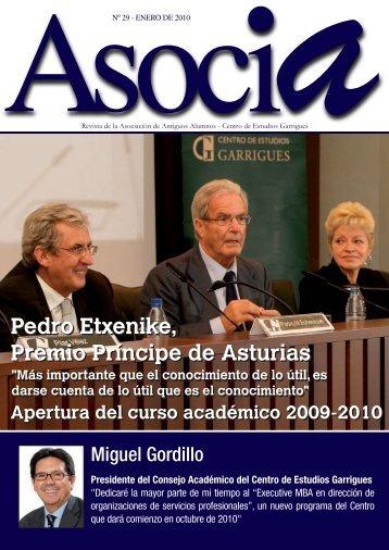Pedro Etxenike, Premio Príncipe de Asturias Pedro Etxenike