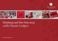 Old Swan - Xmas 2013 (web).indd - Classic Lodges