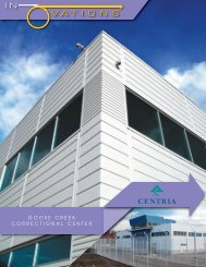 GOOSE CREEK CORRECTIONAL CENTER - CENTRIA