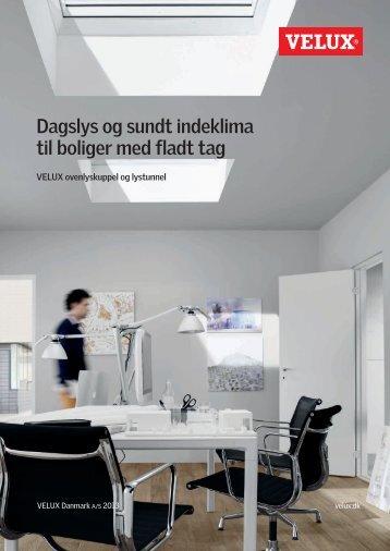 Dagslys og sundt indeklima til boliger med fladt tag - Velux