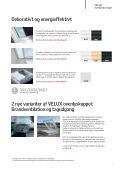Dagslys og sundt indeklima til boliger med fladt tag - Velux - Page 7