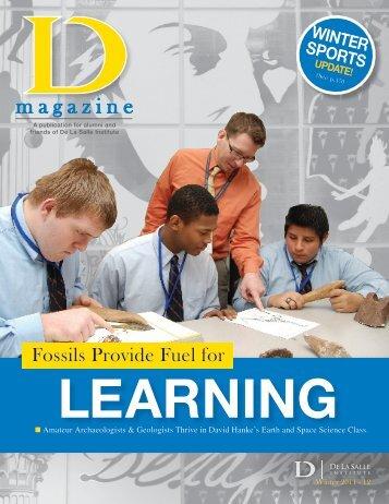 Winter 2012 Issue - De La Salle Institute