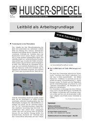 März - Mai [PDF, 590 KB] - Gemeinde Hausen am Albis