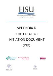 The Project Initiation Document (PID) - South West Councils