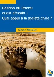 Gestion du littoral ouest-africain : quel appui à la société civile