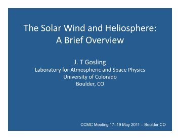 The Solar Wind and Heliosphere: A Brief Overview