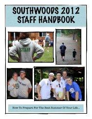 Staff Handbook 2012 Final2 - Southwoods