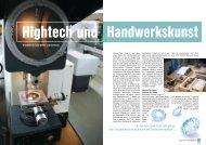 Hightech Und Handwerkskunst - Kaeser Kompressoren Gmbh